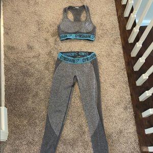 Gymshark flex leggings and sports bra